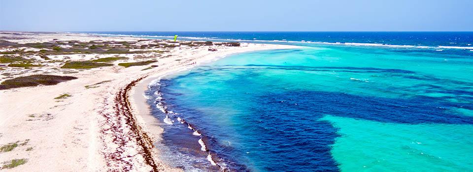 Strand in Aruba auf südlicher Karibik Kreuzfahrt