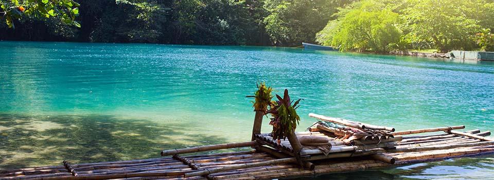 Floss in Jamaika auf westlicher Karibik Kreuzfahrt